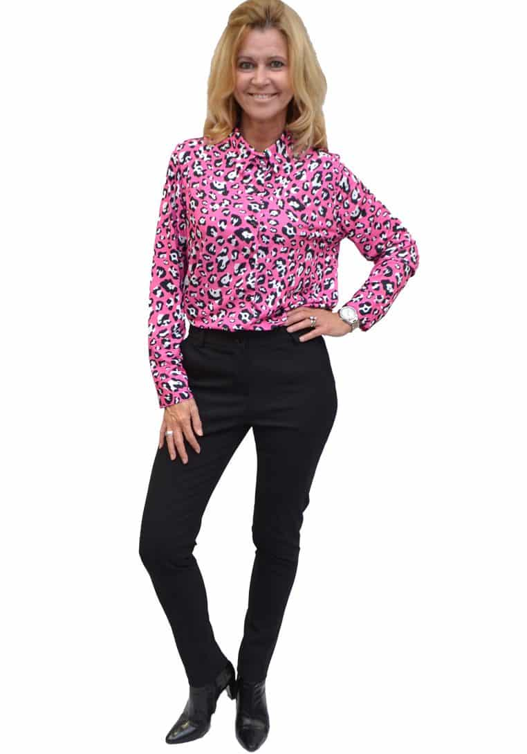 Gemma Ricceri Blouse Panter Rose