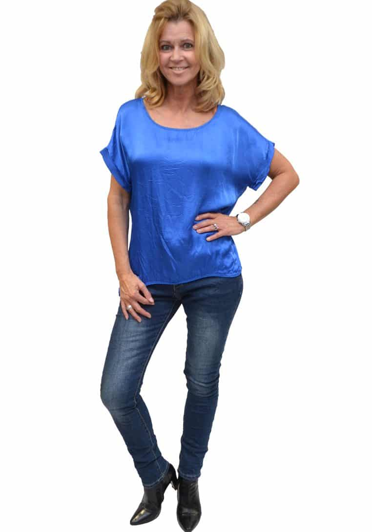 Gemma Ricceri Shirt Blauw Voorkant