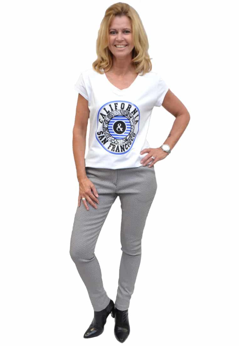 Gemma Ricceri Shirt California Blauw