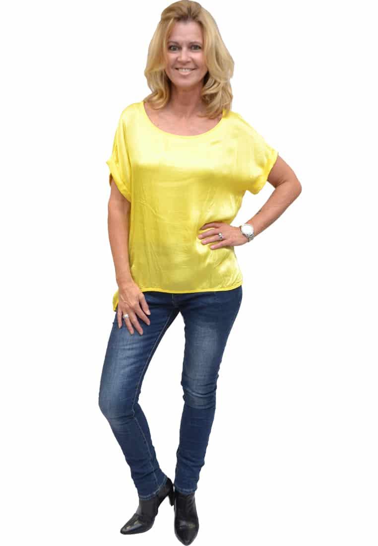 Gemma Ricceri Shirt Geel Voorkant