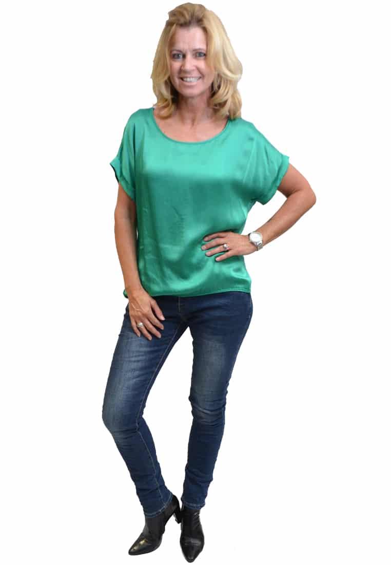 Gemma Ricceri Shirt Groen Voorkant