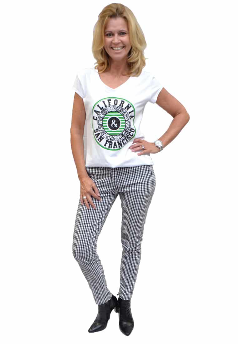 Gemma Ricceri Shirt California Groen