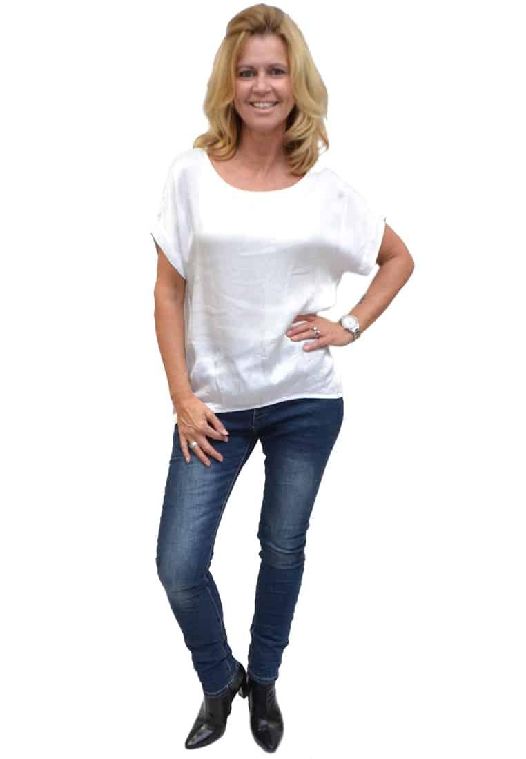 Gemma Ricceri Shirt Wit Voorkant