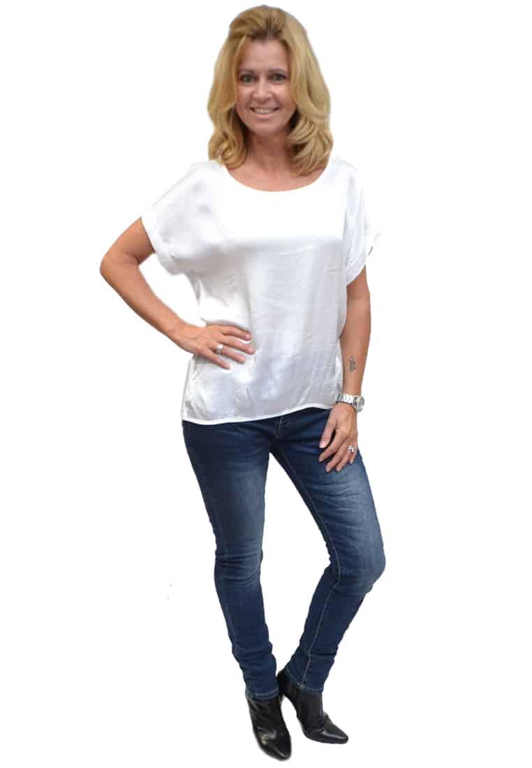 Gemma Ricceri Shirt Wit Zijkant