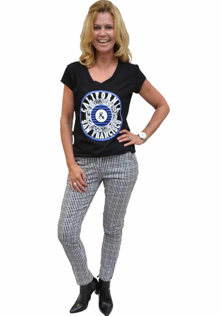 Gemma Ricceri Shirt Zwart California