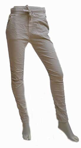 Melly & Co Broek Violetta Beige