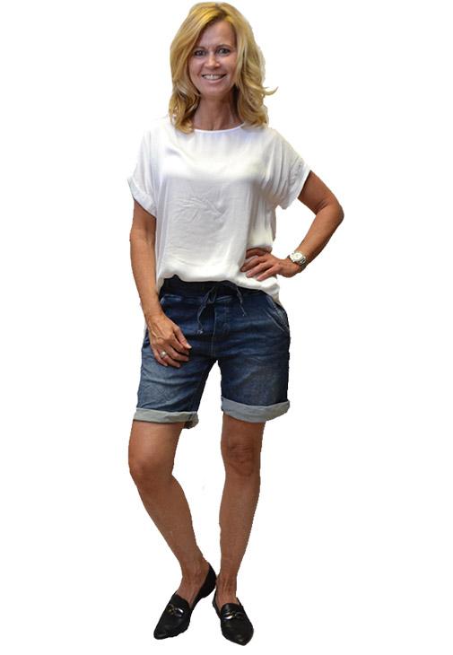 Melly & Co Korte Broek SpijkerJeans Voorkant