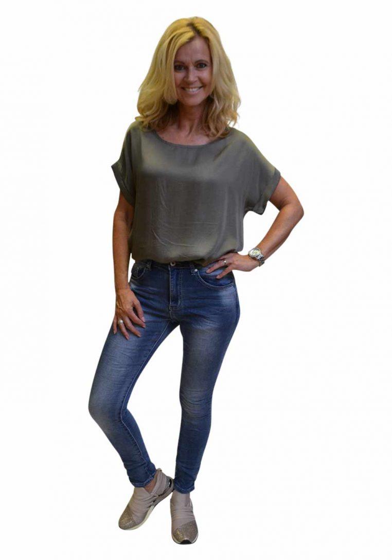 Gemma Ricceri Shirt Brons Daphne Voorkant