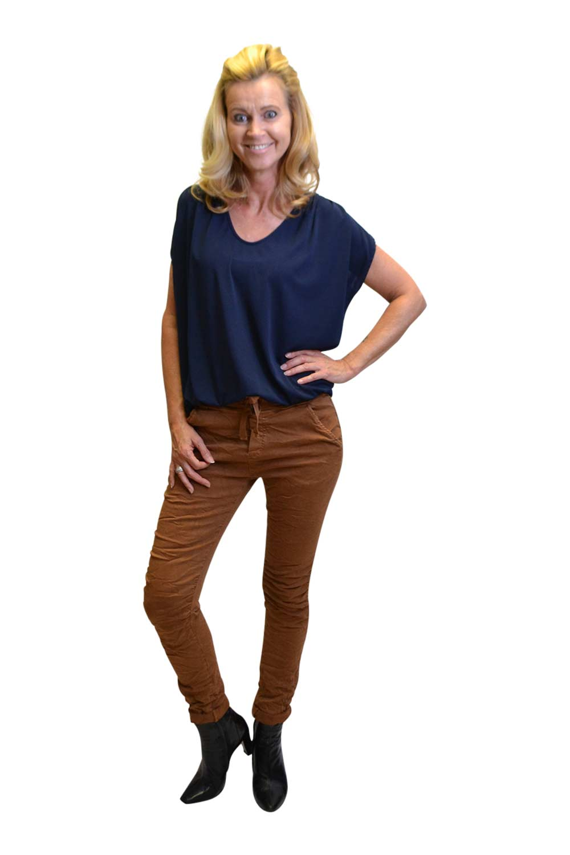 Gemma Ricceri Shirt Monica Donkerblauw: