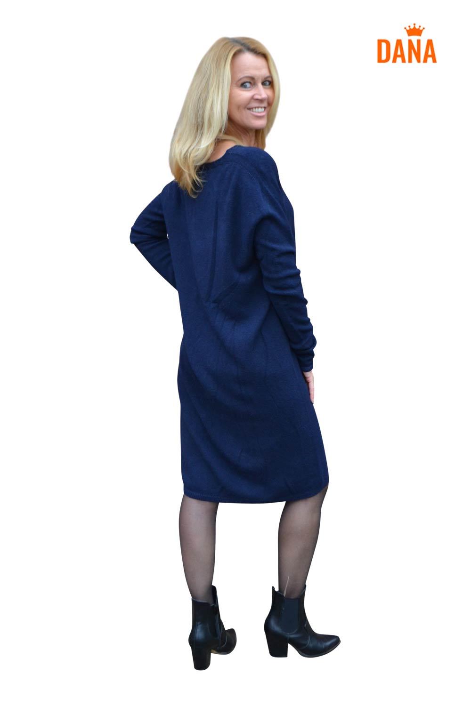 Vera Jo Trui V-Hals Chanel Donkerblauw