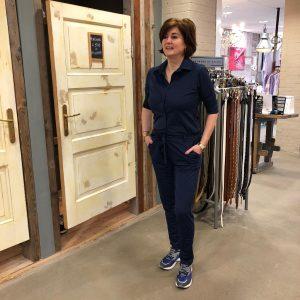 Blauwe Jumpsuit Trendy Mode & Accessoires Store3