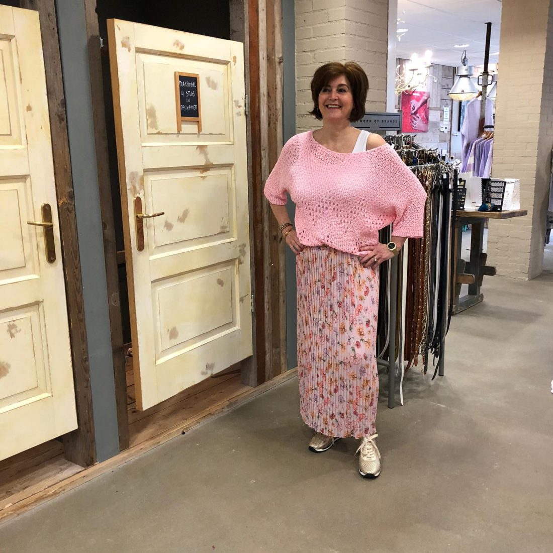 Roze Trui Trendy Dameskleding Store3