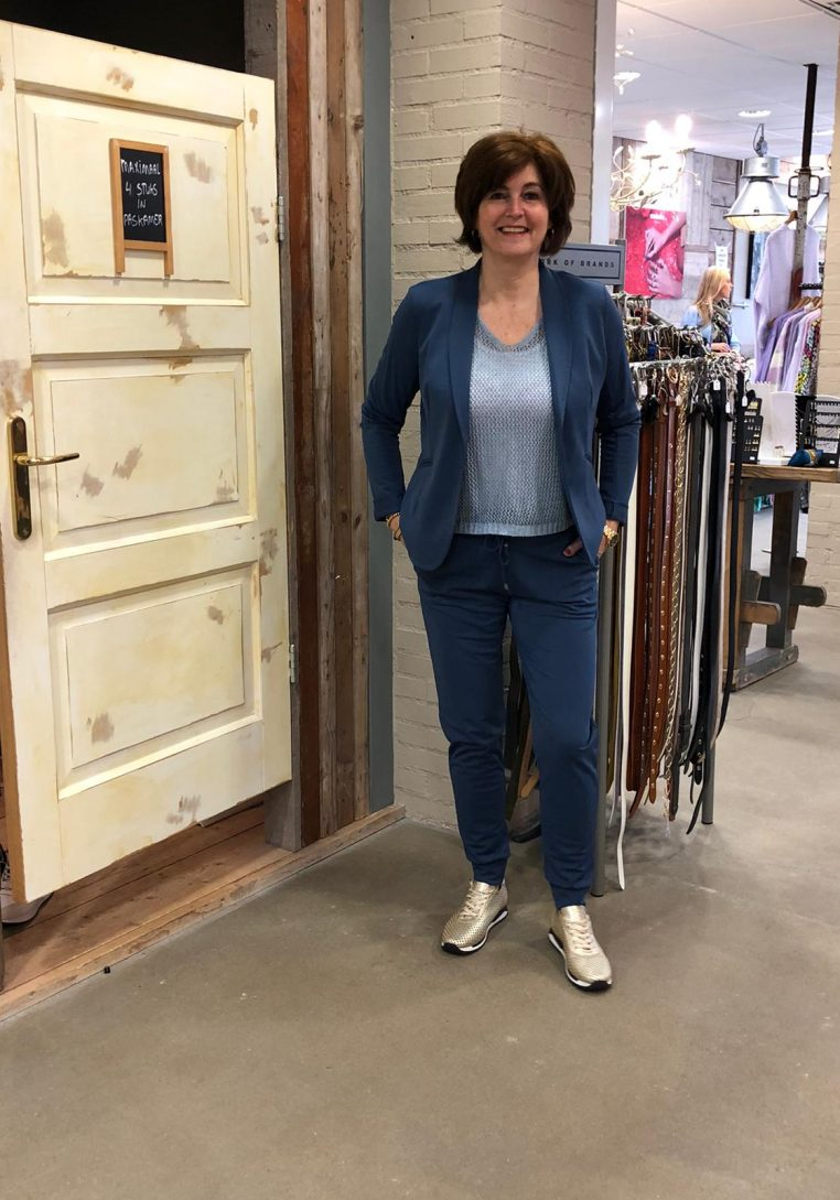 Vera Jo Broek Angelina Jeansblauw