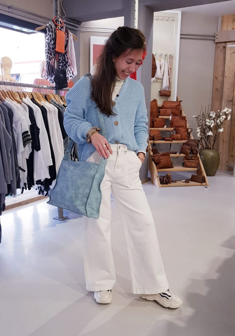 Lichtblauw Rosabella Vest Store3 Mode & Accessoires