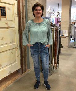 Ambika Blouse Penelope Mint Groen & Melly & Co Jeans Odette Store3 Mode & Accessoires