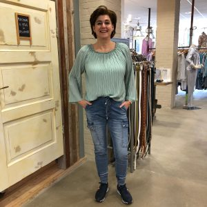 Ambika Blouse Penelope Mint Groen & Melly & Co Jeans Odette Store3 Mode & Accessoires
