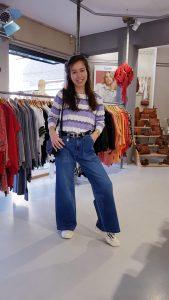 Trui Lila Gestreept Store3 Mode & Accessoires
