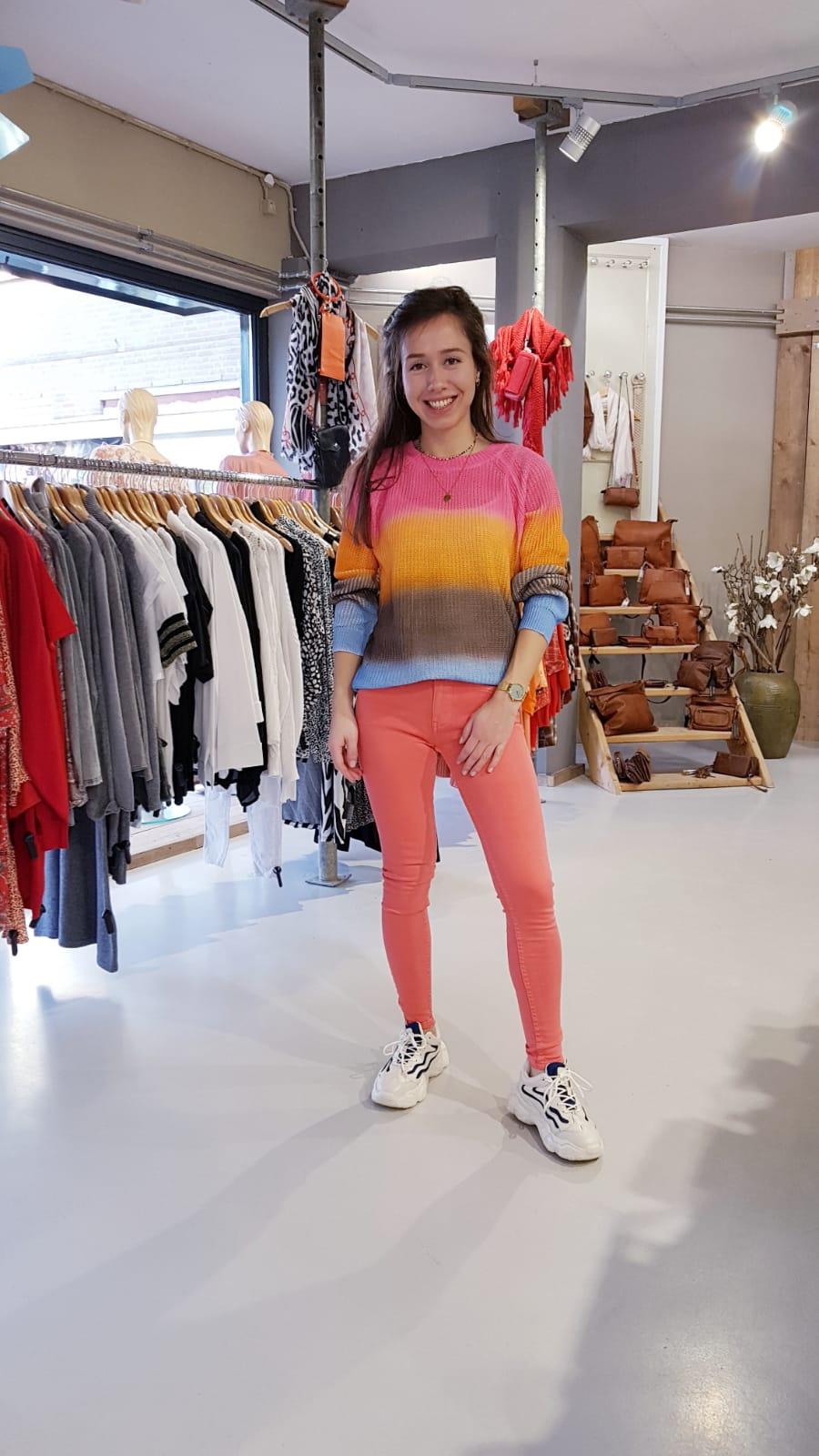Koraal Broek Trui One Size Regenboog Store3 Mode & Accessoires