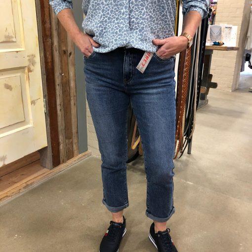 Trendy Dameskleding Toxik Broek Lourdes Donkerblauw