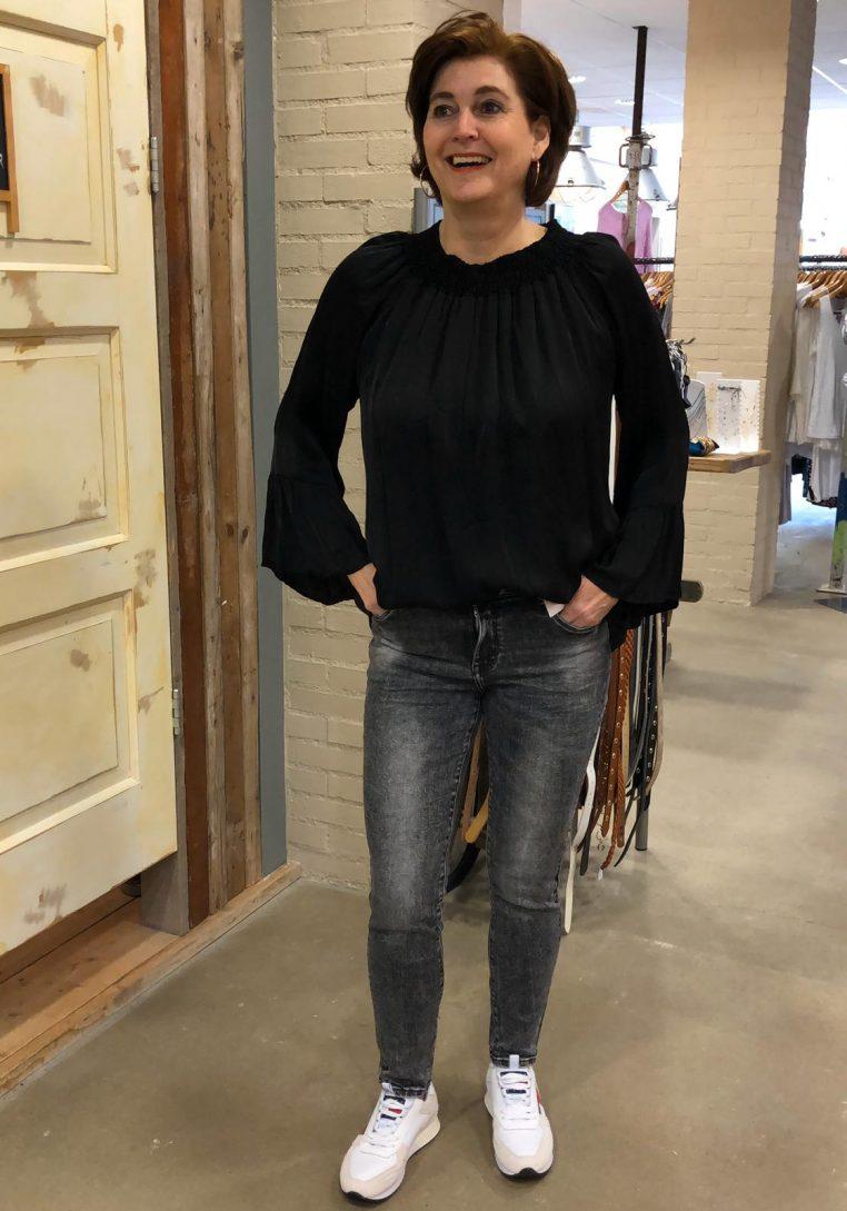 Store3 Blouse Odile Zwart