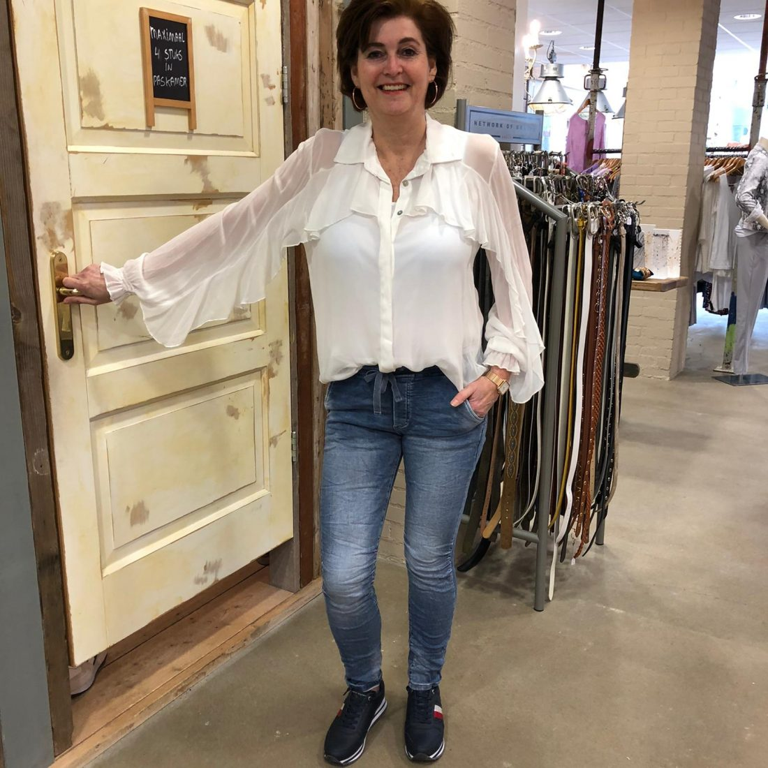 Store3 Blouse Albertine Wit