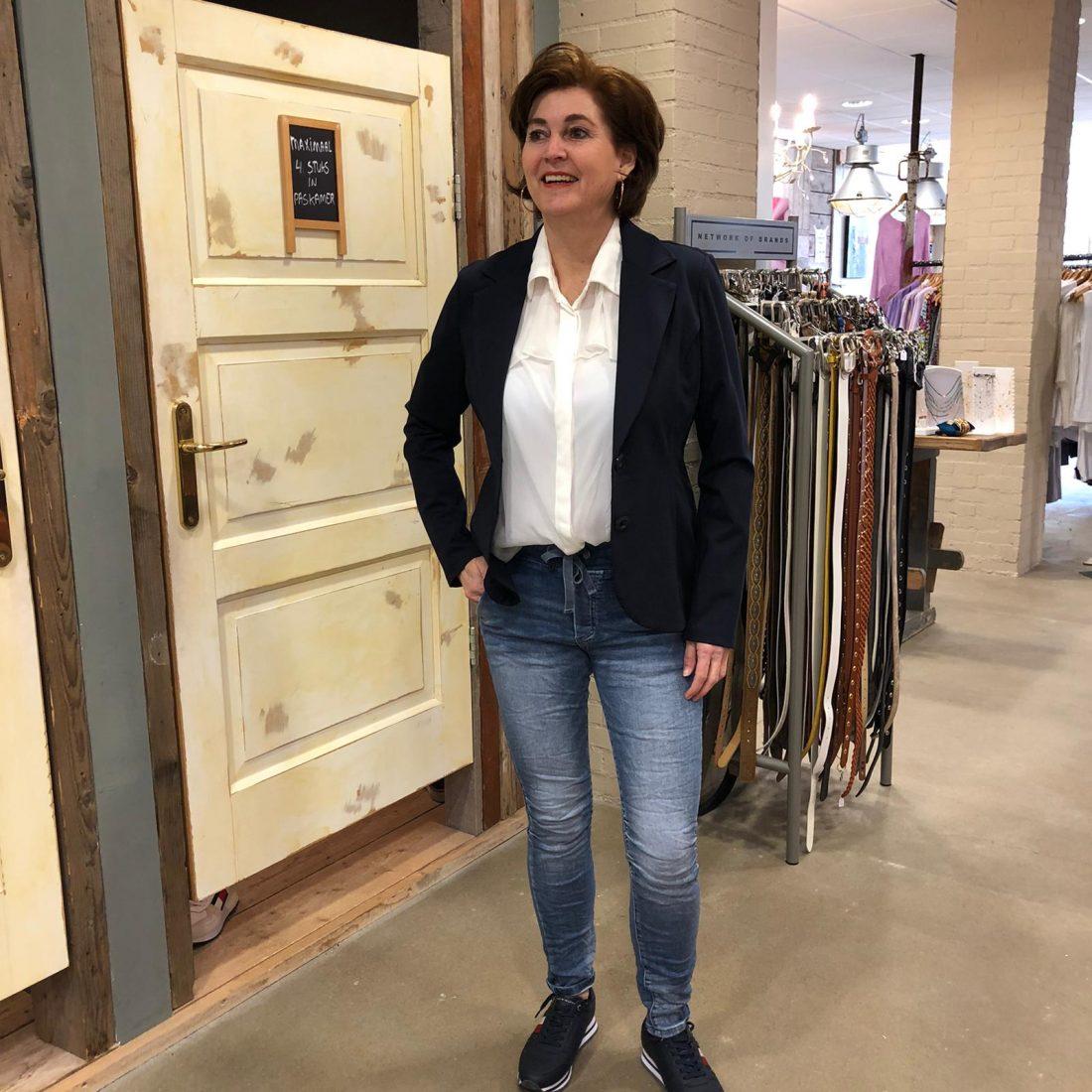 Vera Jo Blazer Charlot Donkerblauw