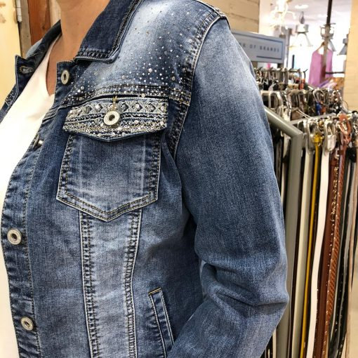 Melly & Co Jeans Jack Met Pailletten Store3 Mode & Accessoires