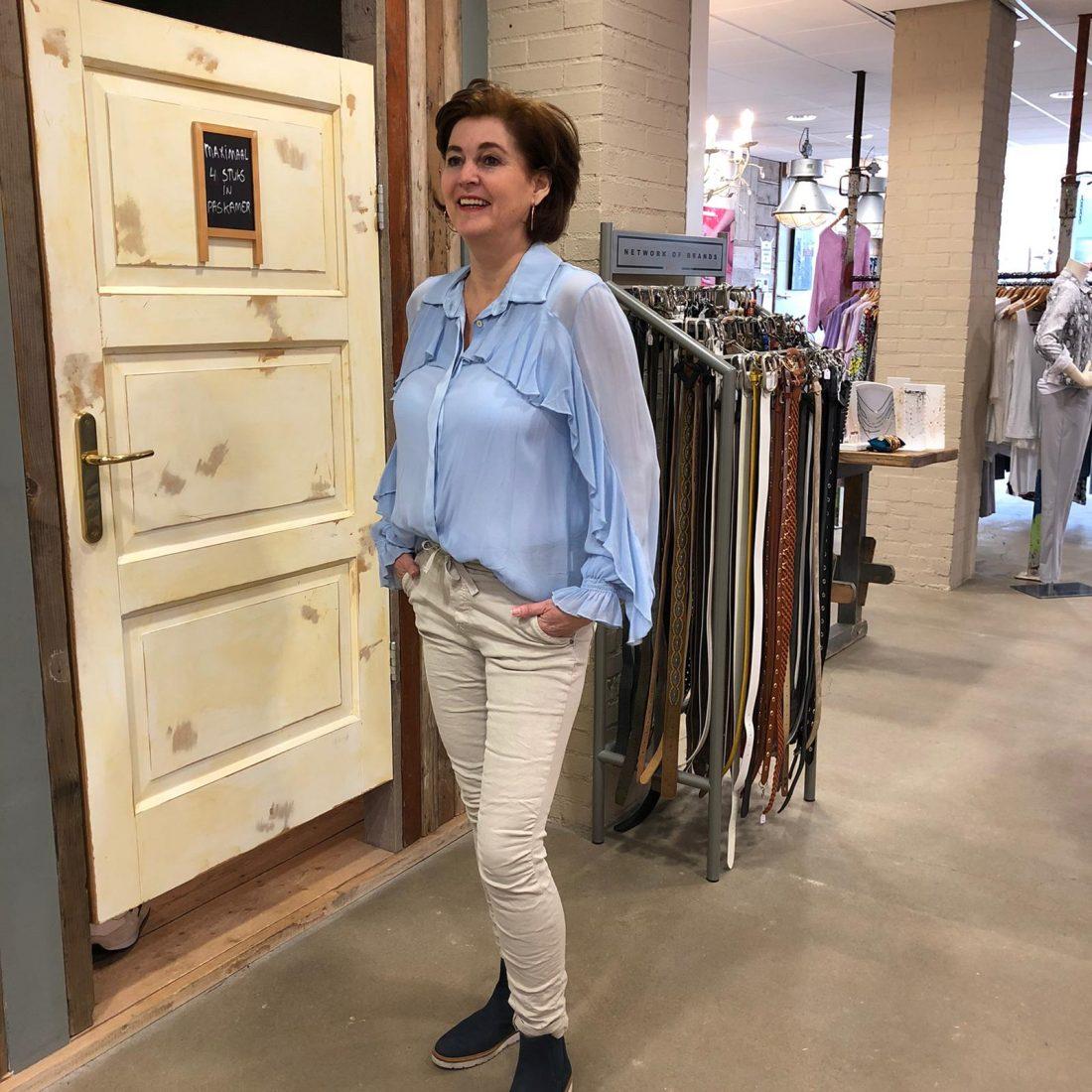 Store3 Blouse Angeline Lichtblauw