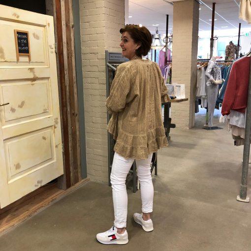 Store3 Linnen Blouse Beige Clarice Store3 Mode & Accessoires