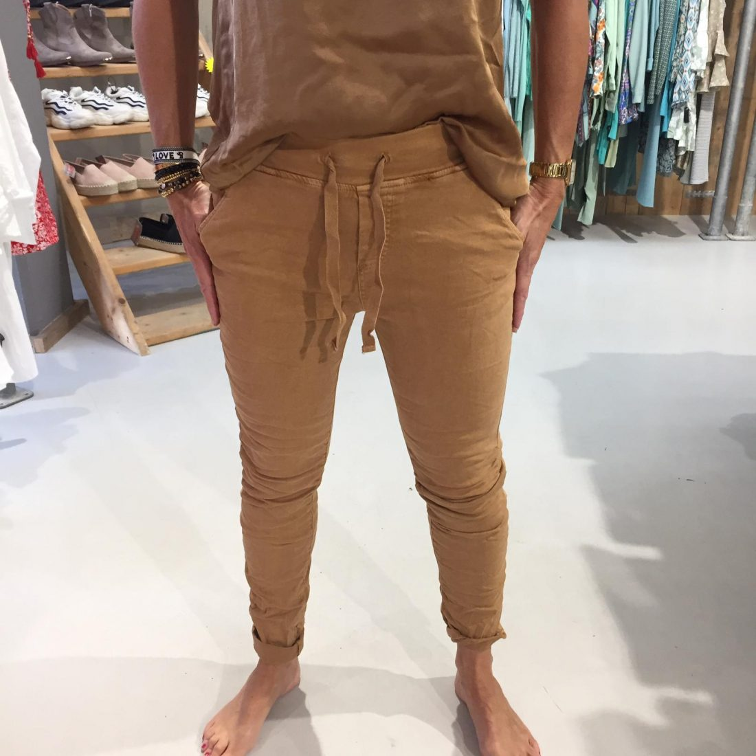 Melly & Co Broek Victoire Camel