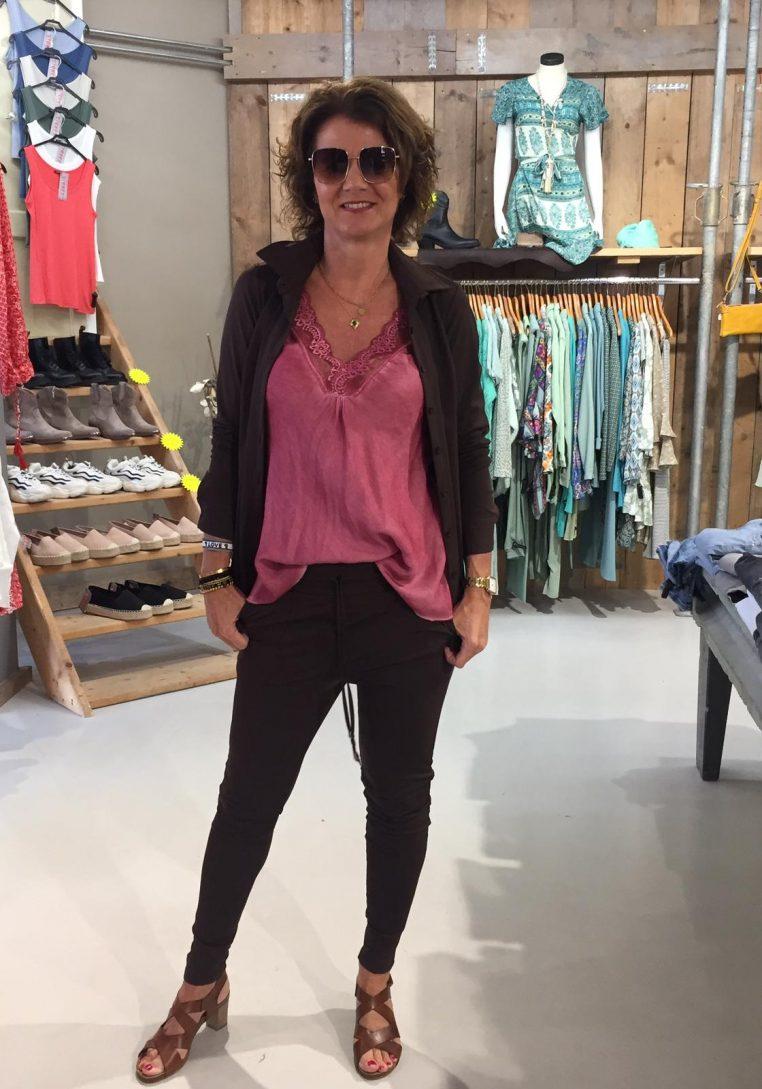 Vera Jo Blouse Travelstof Martine Bruin