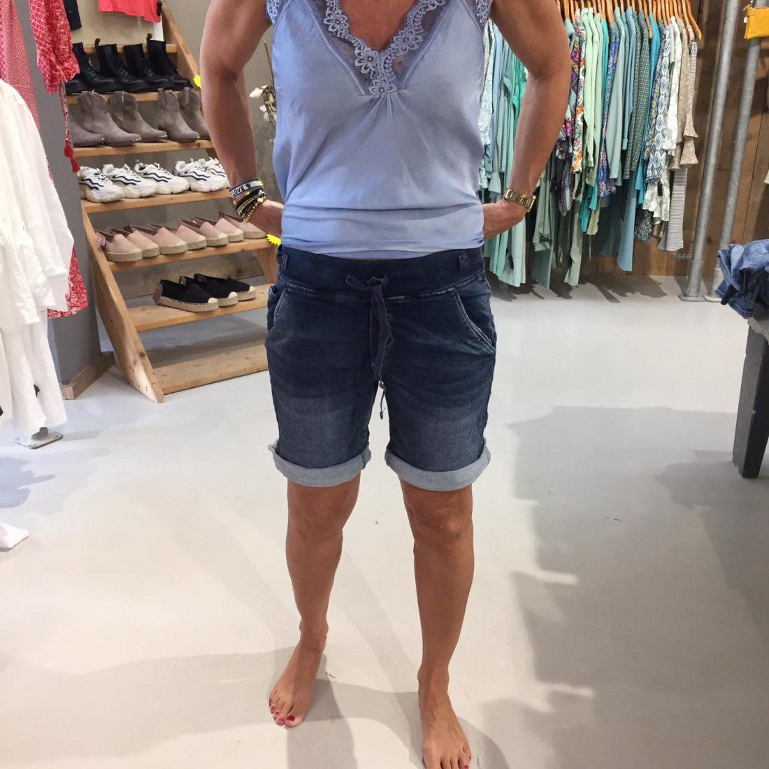 Melly & Co Korte Jeans Aveline