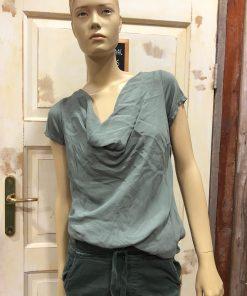 Gemma Ricceri Waterval Shirt Alisia Legergroen