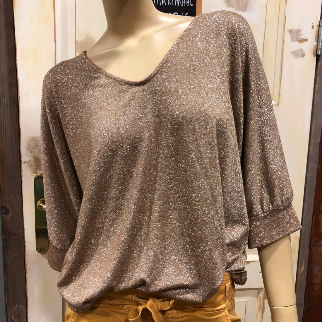Gemma Ricceri Glitter Shirt Aafke Bruin
