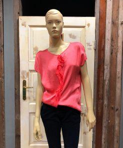Gemma Ricceri Froezel Shirt Pepper Roze Anja