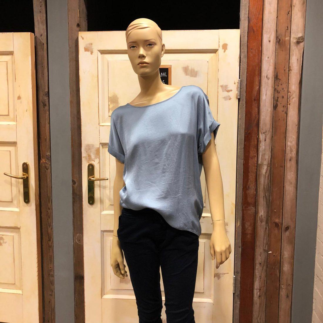 Gemma Ricceri Shirt Ankie Jeansblauw