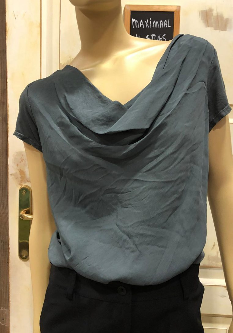 Gemma Ricceri Waterval Shirt Belle-Rose Antraciet